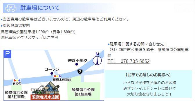 須磨水族園のアクセス方法