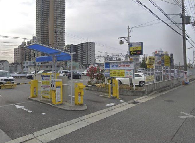 駐車料金が安い須磨水族園周辺の有料駐車場 第2位  タイムズ須磨海浜公園駅前駐車場