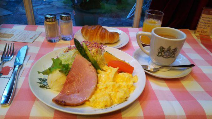京都の早朝モーニングといえばこれ!老舗イノダコーヒの本店の名物メニュー『京の朝食』!