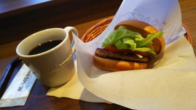 モスバーガーで早朝のお勉強を。関西ではここだけ、モスカフェのモーニングセット。