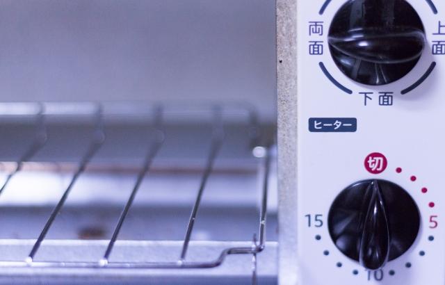 オーブントースターのヒーターにくっついたときの対処法