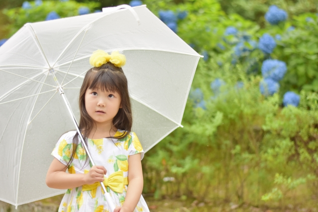 幼児用傘の選び方、身長やサイズで適正サイズを確認!