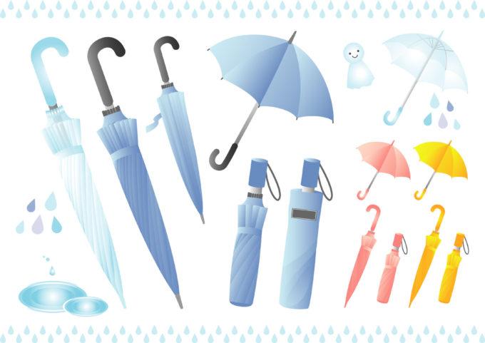 正しい傘の持ち方のマナーとは?