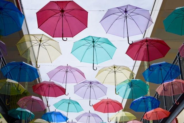 ビニール傘はいつから?ビニール傘の歴史
