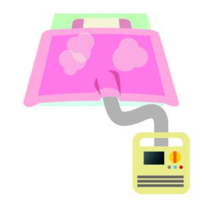 布団乾燥機の仕組みについて