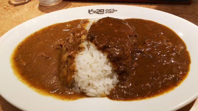 【JR大阪駅・駅構内】老舗ピッコロカレーの食べ比べ。お得なWソースカレー!1