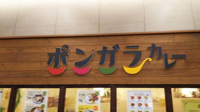 【阪急梅田駅】ポンガラカレーで味わう、混ぜて混ぜて美味しいスリランカ流カレープレート1