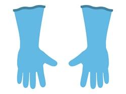 ゴム手袋(なくても良い)