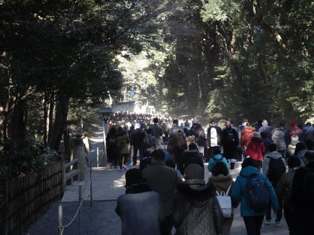 明治神宮の初詣の混雑する時間帯とおすすめ参拝時間