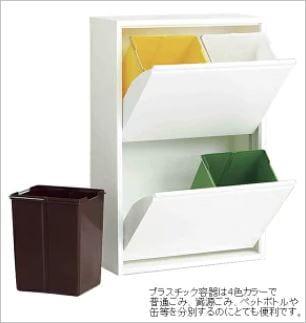 おすすめの商品は、ASPLUND(アスプルンド)4リサイクルダストボックス